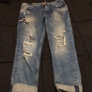Denim - Premium wash Zara jeans Boyfriend jeans USA size 6